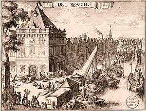 Waag, Haarlem - Image: Romeyn de Hooghe De Waag Haarlem UBL01 P328N102