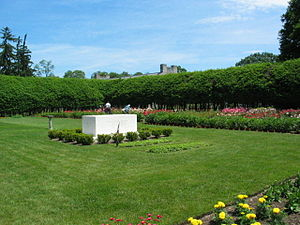 Home of Franklin D. Roosevelt National Historic Site - The grave of Franklin and Eleanor Roosevelt