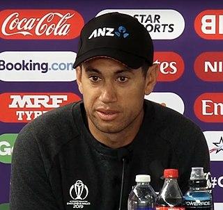 Ross Taylor New Zealand cricketer
