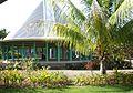 Round Samoan house in Avao village, Matautu, Savai'i.JPG