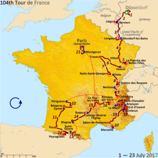 2017 Tour de France cycling race