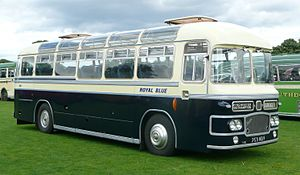 Royal Blue Coach Services - Preserved Bristol in July 2008