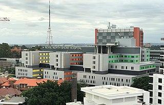 Royal North Shore Hospital Hospital in New South Wales, Australia