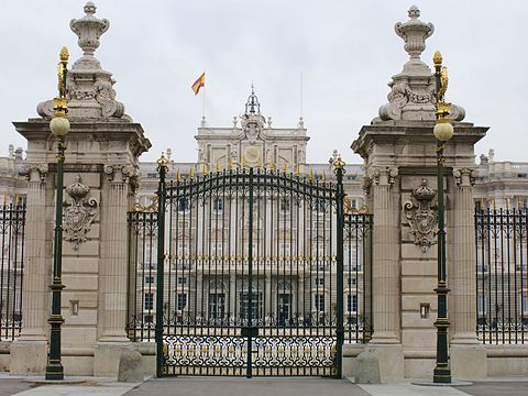 Royal Palace of Madrid Main Gate at Main Facade myspanishexperience com