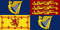 Royal Standard of the United Kingdom in Ireland (theoretical).png