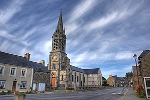 Church of Roz Landrieux, Brittany,France