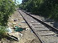 Rubbish on the railway - panoramio (1).jpg