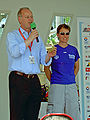 Rudolf Scharping und Petra Roßner DM-Mannheim 2005-06-26.jpg