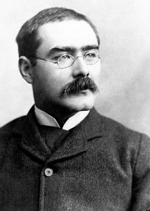 English: Portrait of Rudyard Kipling from the ...