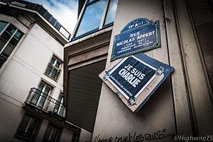 Rue Nicolas-Appert - Image: Rue Nicolas Appert, Paris 8 January 2015 004