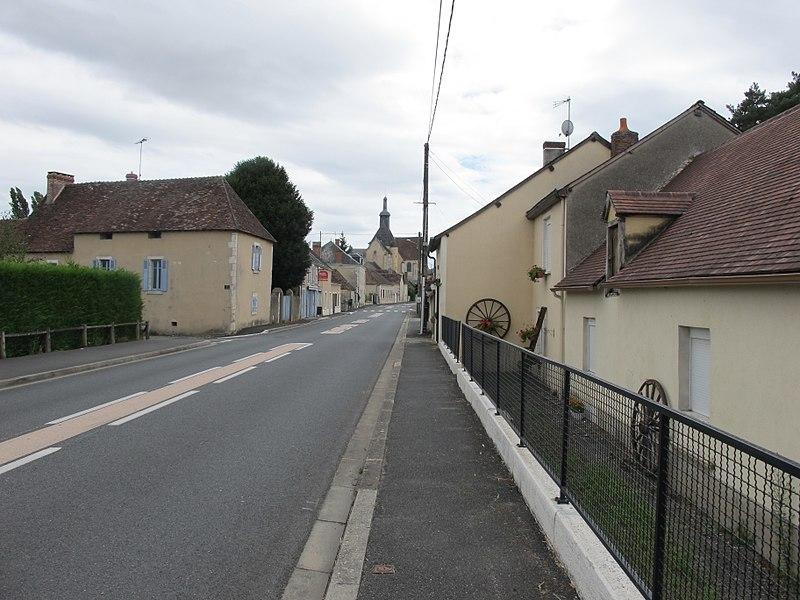 Rue de Méobecq, France