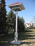Ruhland, Heinrich-Heine-Str.gegenüber Hausnr. 15, Schwalbenhaus, Südansicht, 02.jpg