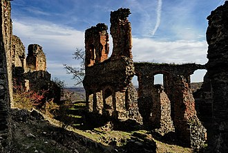 Lipova, Arad - Ruins of Șoimoș Citadel