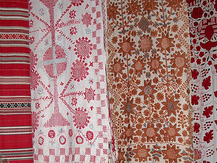 Rushnyk, Ukrainian embroidery Rushnyk - Ukraine embroidered decorative towels..jpg