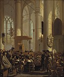 Rutger van Langevelt - Interior of a Dutch Church - KMS3733 - Statens Museum for Kunst.jpg
