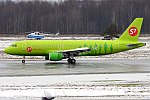 S7 Airlines, VQ-BRG, Airbus A320-214 (41120564182).jpg