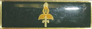 9th Division (South Africa) - Image: SADF 9 Division Command Bar