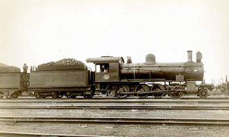 South African Class 8X 2-8-0 - Image: SAR Class 8X 882 (2 8 0)