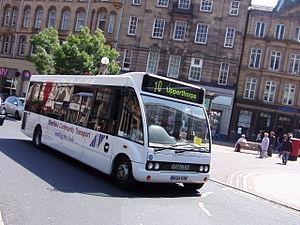 Sheffield Community Transport - Optare Solo in June 2007