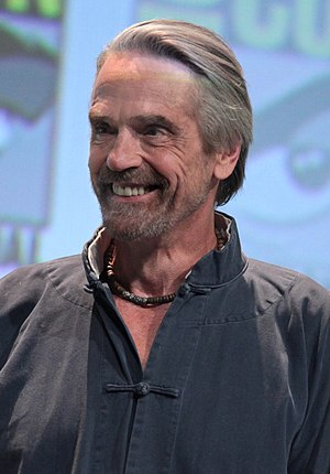 Moe Goes from Rags to Riches - Guest star Jeremy Irons provided the voice of the rag.