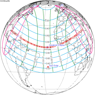 Solar eclipse of January 5, 2038
