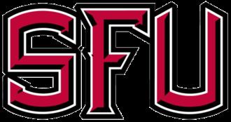 2010 Saint Francis Red Flash football team - Image: SFU old wordmark