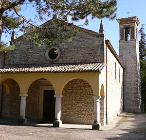 Province of Pesaro and Urbino - Sanctuary of Santa Maria in Val d'Abisso at Piobbico.
