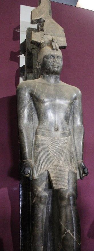 National Museum of Sudan - Statue of Pharaoh Taharqo
