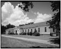 SOUTH FRONT AND EAST CORNER, LOOKING NORTHWEST - Wise Sanatorium No. 2, Hospital Street, Plains, Sumter County, GA HABS GA,131-PLAIN,22-1.tif