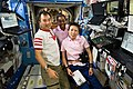 STS-131 Soichi Noguchi, Stephanie Wilson and Naoko Yamazaki.jpg