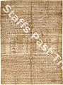 S 906 Charter of King Aethelred to Burton Abbey, confirmation of the will of Wulfric Spot, AD 1004.jpg
