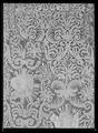 Sadeltäcke ur en serie av sex (6042-6047) tillhörande drottning Kristinas kröningskaross med trofémotiv - Livrustkammaren - 44797.tif