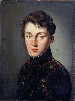Nicolas Léonard Sadi Carnot in 1813 at age of 17 in the traditional uniform of a student of the École Polytechnique