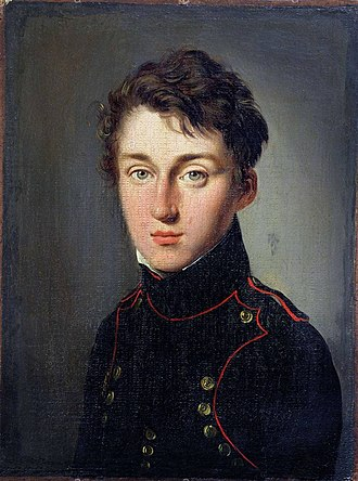 Nicolas Léonard Sadi Carnot - Nicolas Léonard  Sadi Carnot in 1813 at age of 17 in the traditional uniform of a student of the École Polytechnique