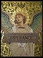 Saint-Denis (93), musée d'art et d'histoire, Luc-Olivier Merson et Charles Girault, L'Espérance, mosaïque émaillé, 1897-98.JPG
