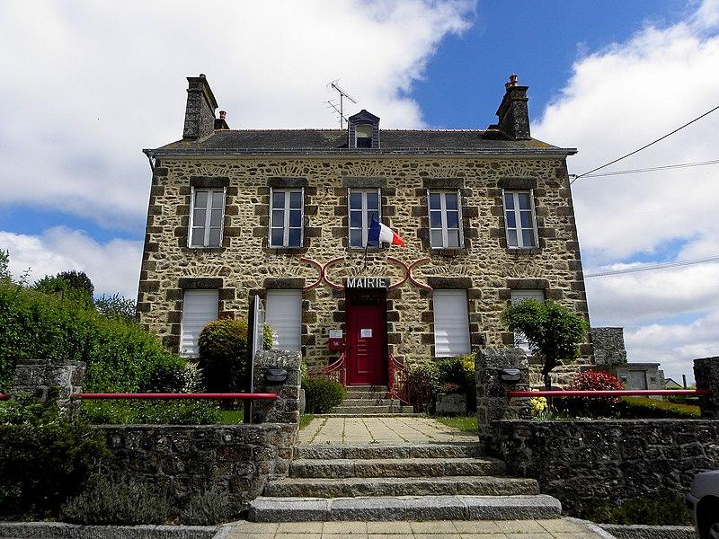 Mairie de Saint-Hilaire-du-Maine (53).