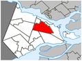 Saint-Lazare Quebec location diagram.PNG