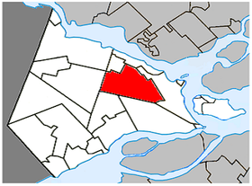 Saint-Lazare Quebec location diagram.PNG