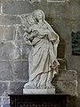 Saint-Malo (35) Cathédrale Saint-Vincent Intérieur Statue 01.jpg