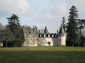 The château du Courdray, in Saint-Sulpice-des-Landes