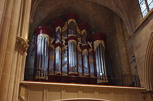 St. Joseph Cathedral (Columbus, Ohio) - Pipe organ