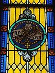 Saint Mary Catholic Church (Philothea, Ohio) - stained glass, Ave Maria.jpg