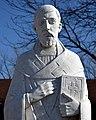 Saint Timothy Church (Columbus, Ohio) - exterior, St. Timothy statue portrait.jpg