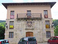 Salinas de Léniz (Leintz.Gatzaga) - Ayuntamiento 1.JPG