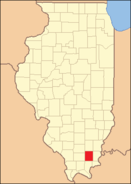 Saline County Illinois 1847
