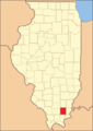 Saline County Illinois 1847.png
