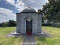 Sam Eyde 1866-1940 Mausoleum Gravsted Borre kirke (church) Horten (Oslofjorden Norway) Kirkegård gravlund (cemetery) 2021-07-08 IMG 8113.jpg