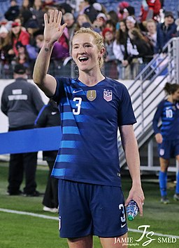 Sam Mewis in March, 2019