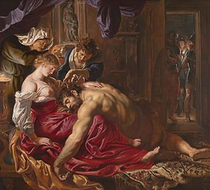 Samson and Delilah (Rubens) - Image: Samson and Delilah by Rubens