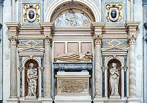 Francesco Venier - Francesco Venier's monument in San Salvador (Venice)